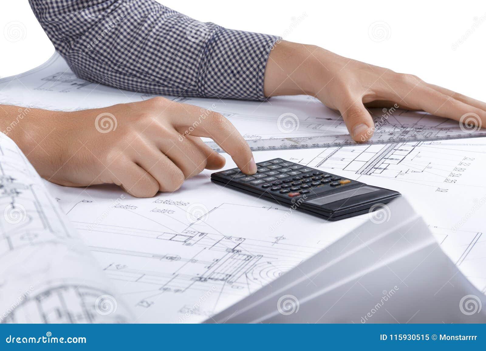 Lieu de travail d ingénieur/architecte