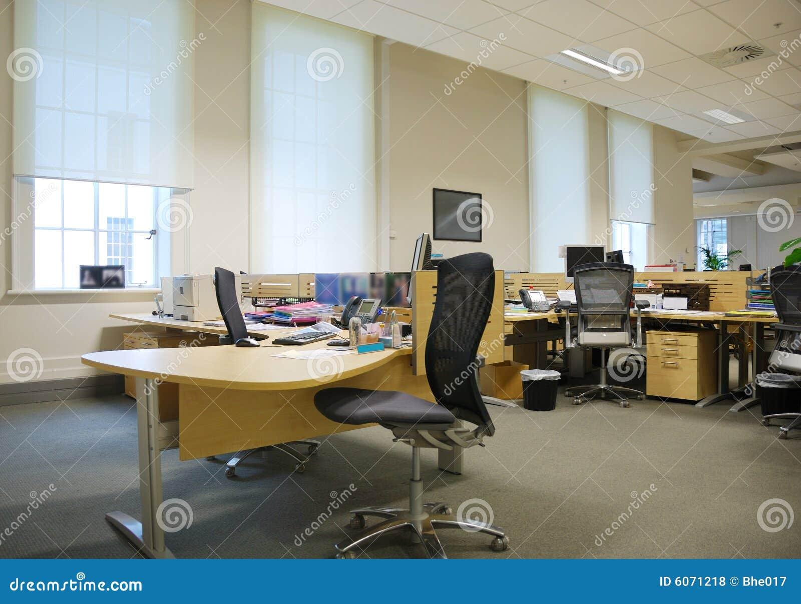 Lieu De Travail De Bureau Photos libres de droits Image 6071218