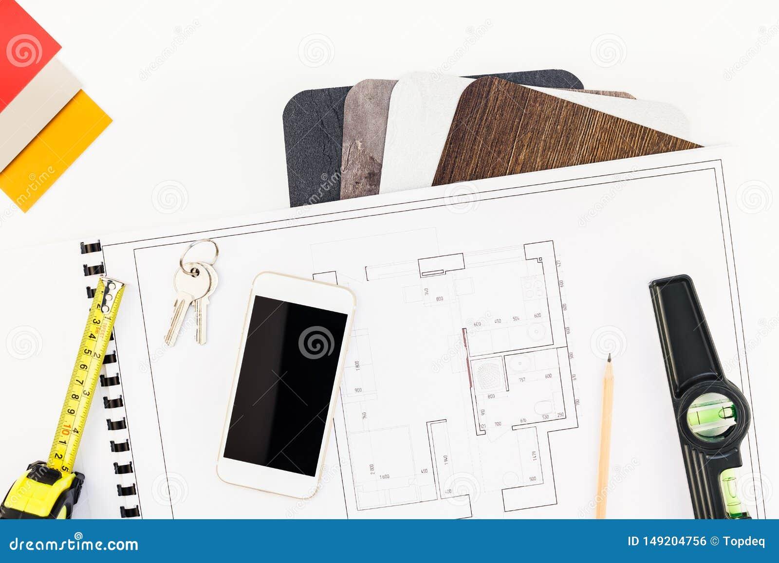 Plan De Travail Mobile lieu de travail de table de dessinateur d'int?rieurs avec le