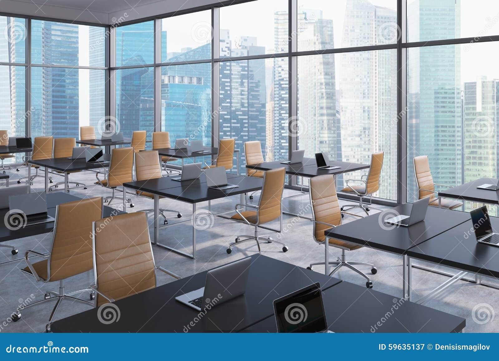 Lieux de travail dans un bureau panoramique faisant le for Interior architect jobs new york