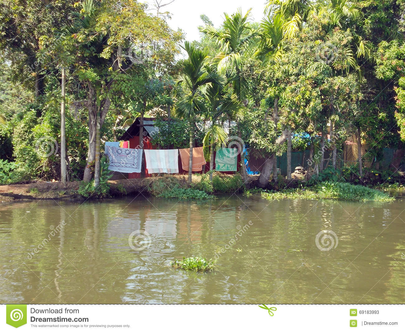 Life on the backwaters of Alleppey