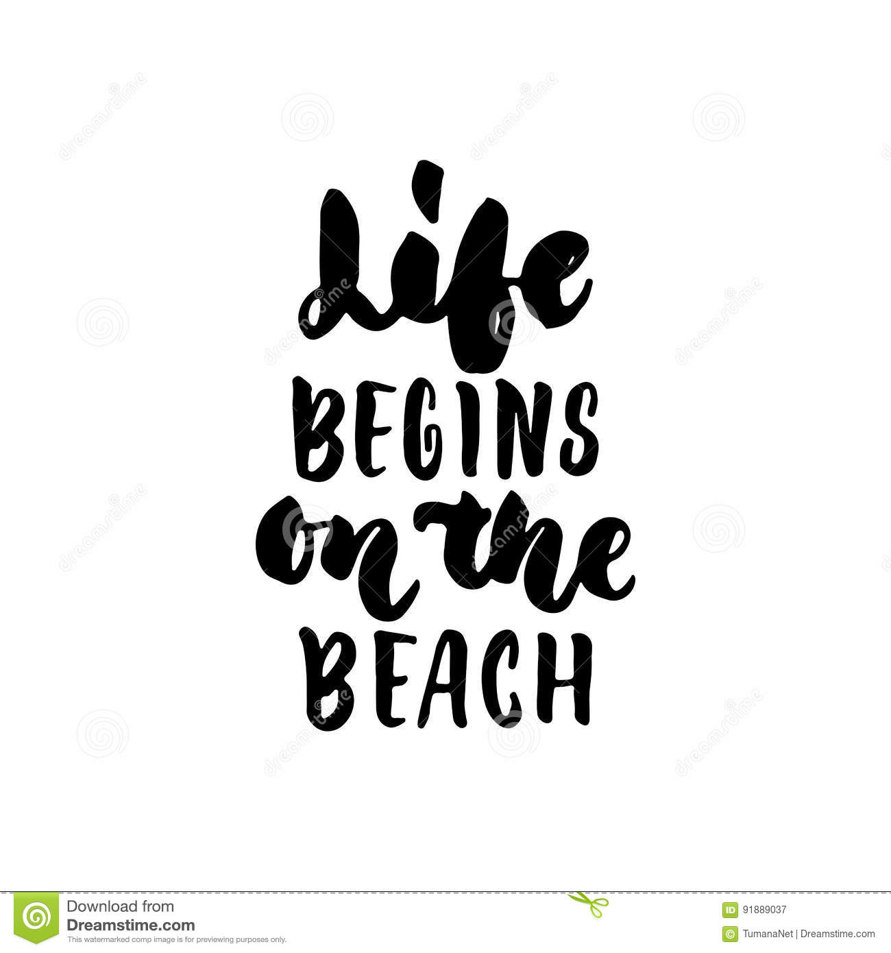 Life Begins On The Beach