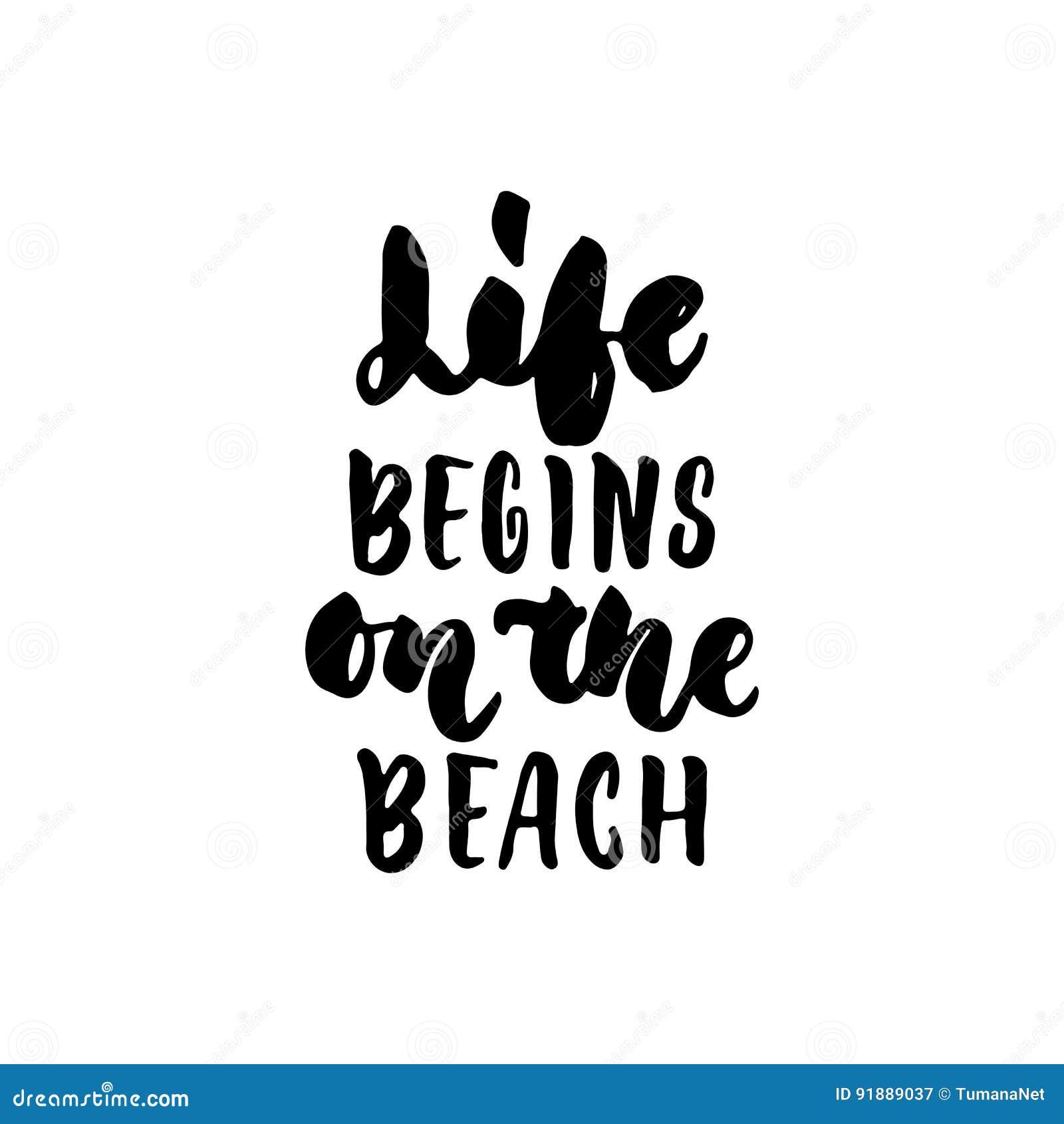 Life Begins On The Beach