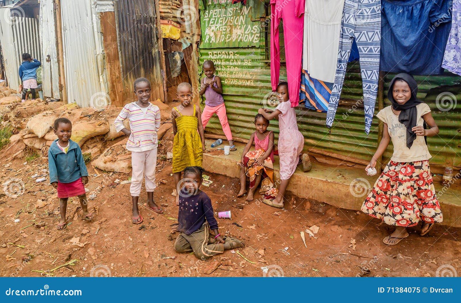 Daily Life Of Children Of Kibera Slum In Nairobi,Kenya ...