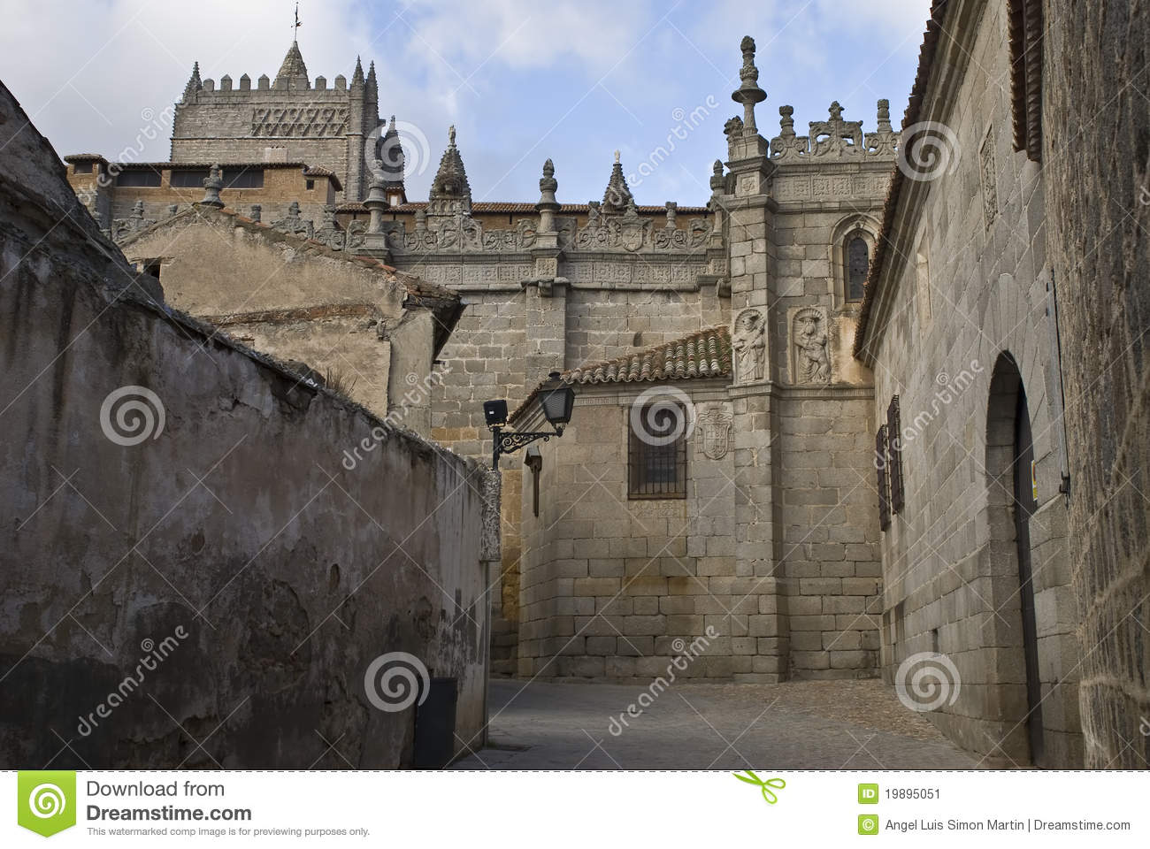 Download Life and death street. stock image. Image of fortified - 19895051