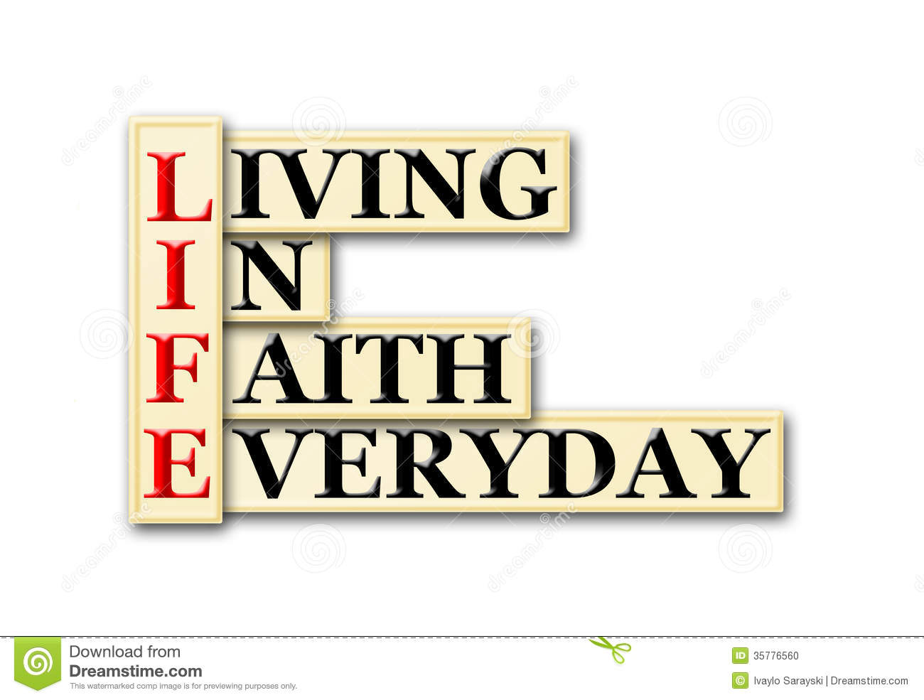 living faith Living faith — the kind of faith described in the bible — can transform your life, enabling you to enjoy a close, personal relationship with god faith can offer.