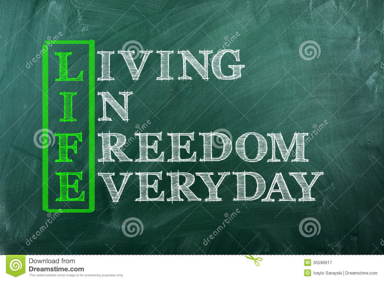 Life Freedom Royalty Free Stock Photography Image 35596617