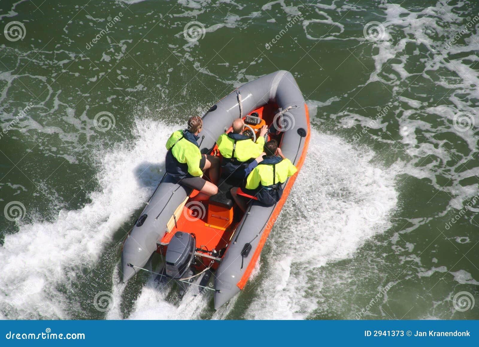 Life Guard Boat