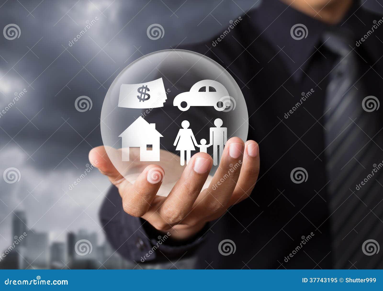 Life insurance concept
