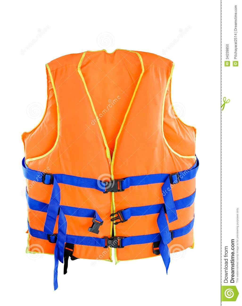Life Jacket Stock Photo Image Of White Outfit Clothing 34239850