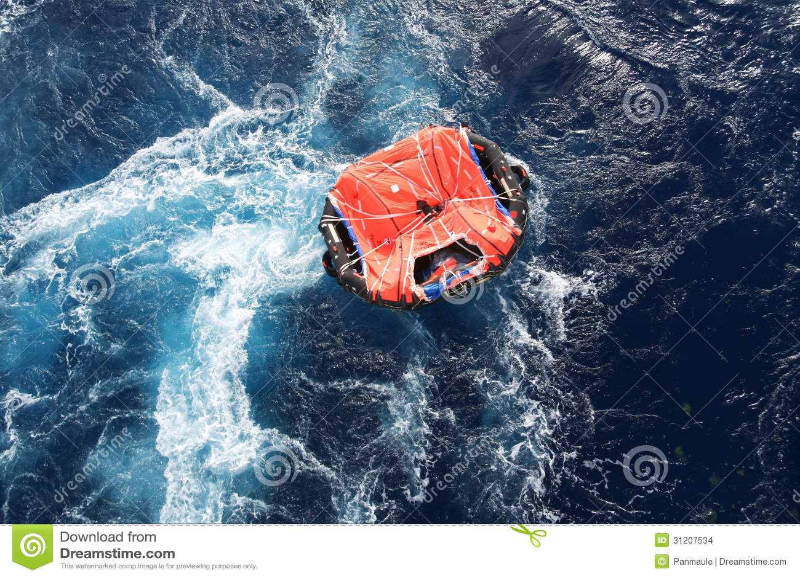 Life Raft Stock Images - Image: 31207534