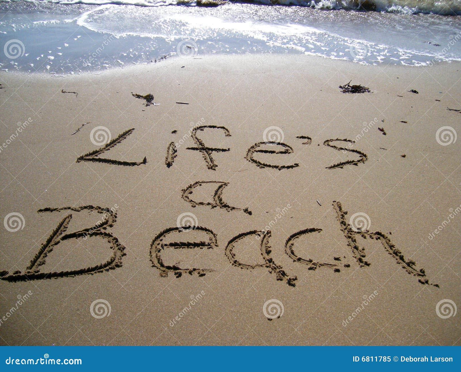 Life S A Beach Royalty Free Stock Photo Image 6811785