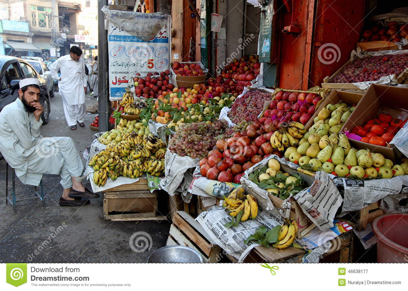 th fruit seller