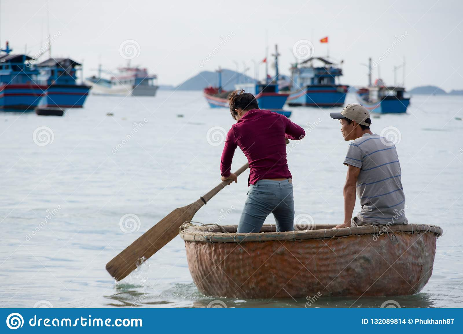 Life And Work In Traditional Fishing Village, In Vietnam Part 7