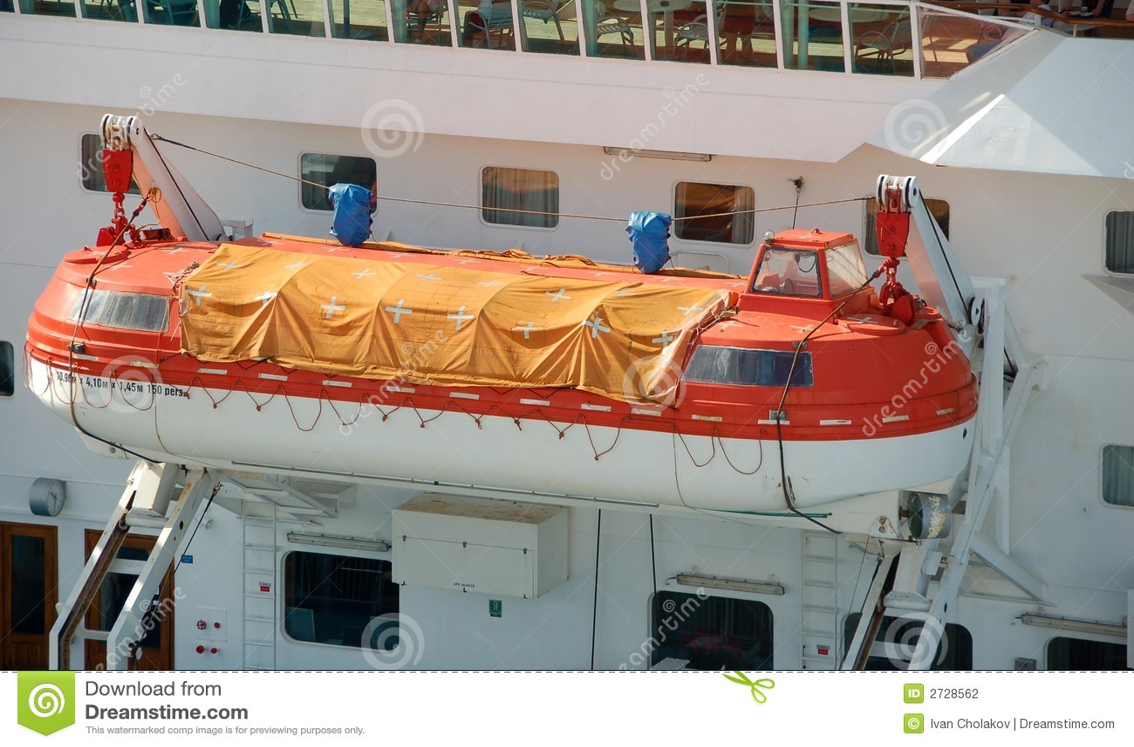 Passenger Ship Lifeboats