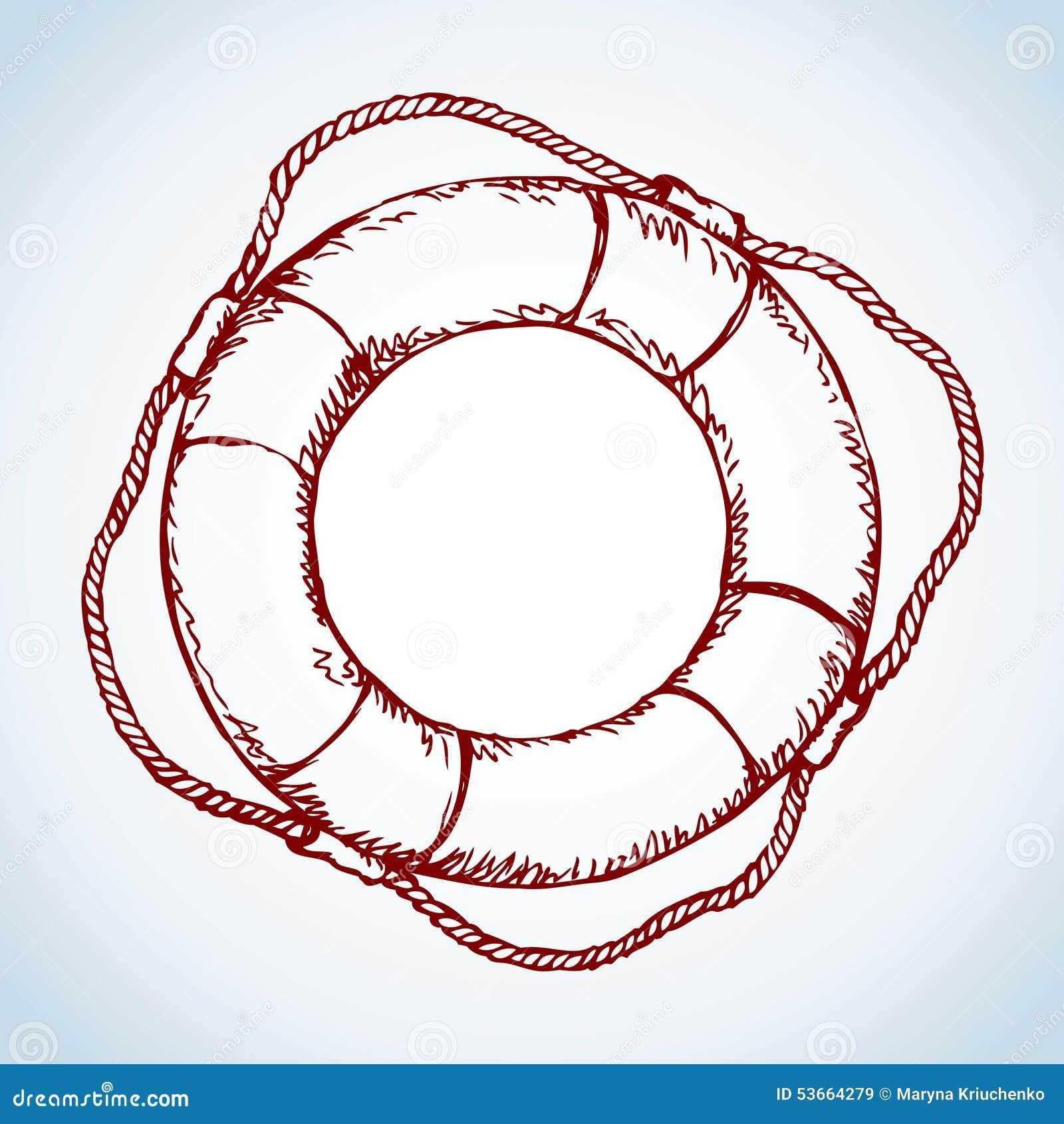 Lifebuoy Gráfico del vector