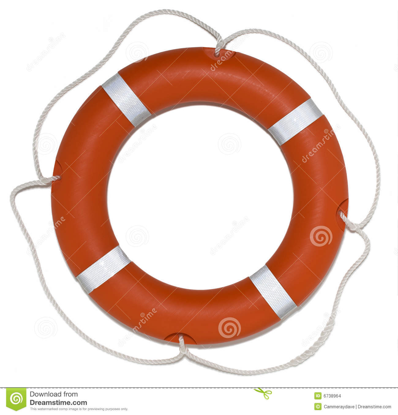Lifebuoy Ring Preserver Lifesaver Stock Images - Image: 6738964