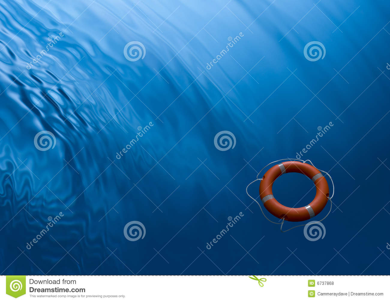 Lifebuoy Ring Waves Water Business Help Psychology Background