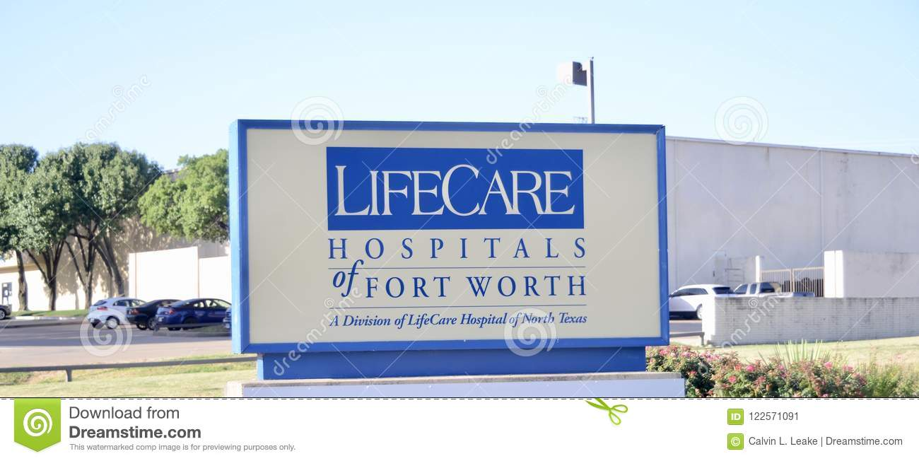 Life Care Hospitals Of Dallas Editorial Photo - Image of
