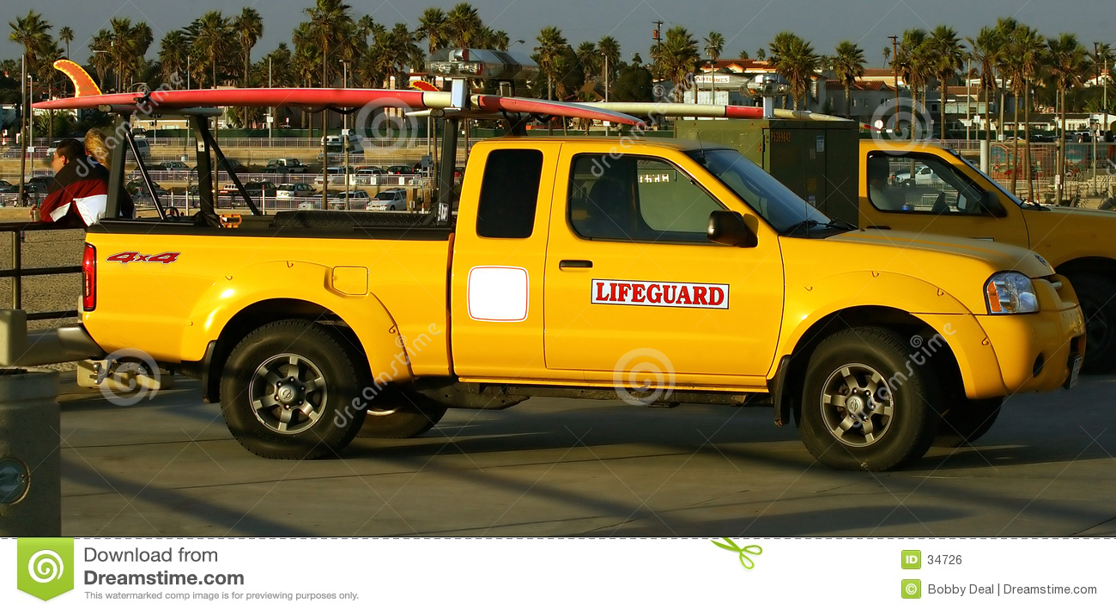 Lifegaurd卡车