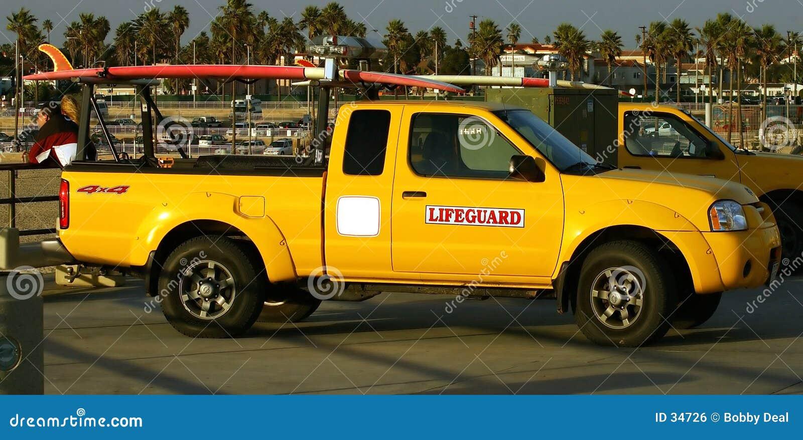 Lifegaurd ciężarówka.