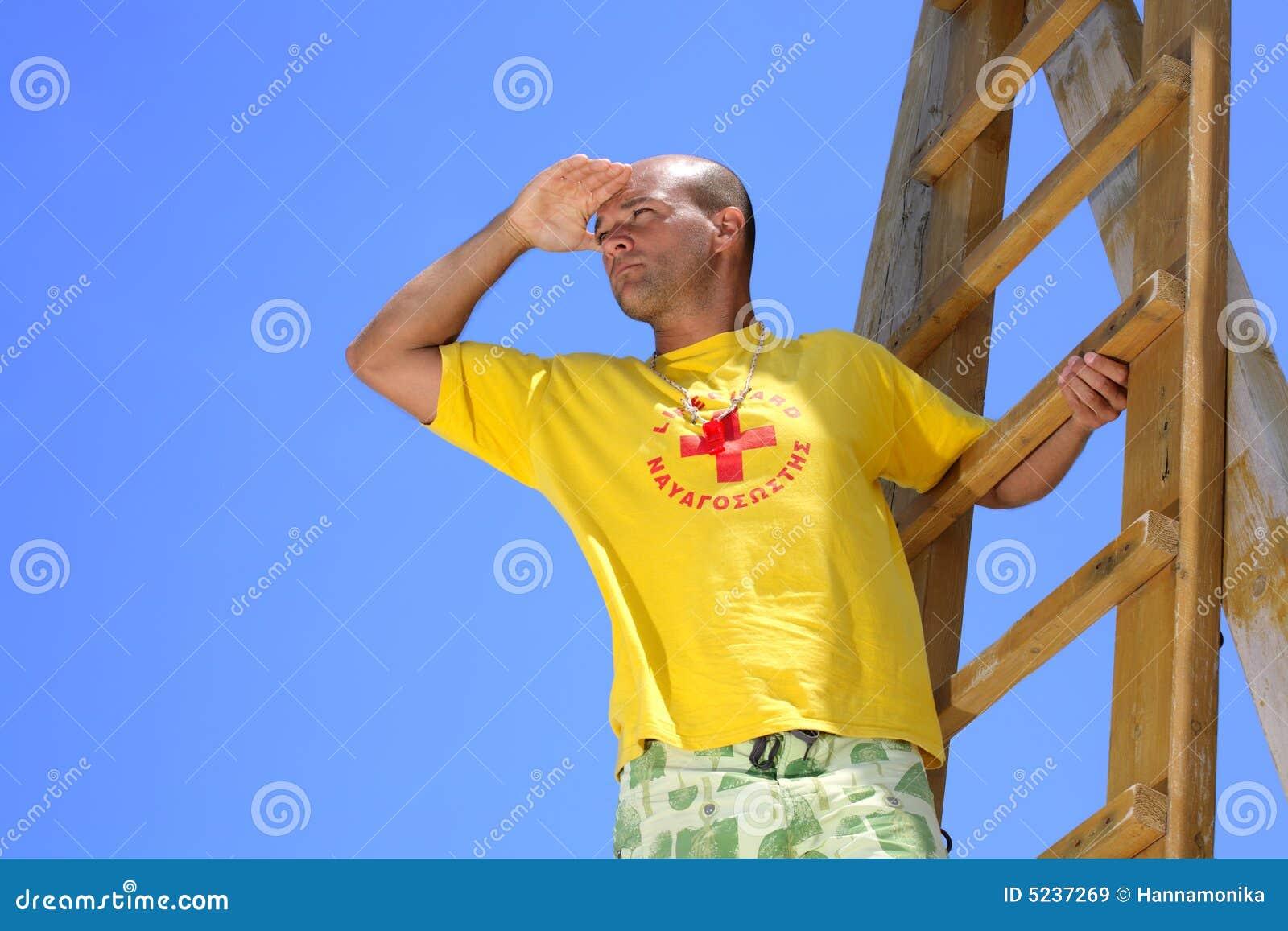 Lifeguard on duty