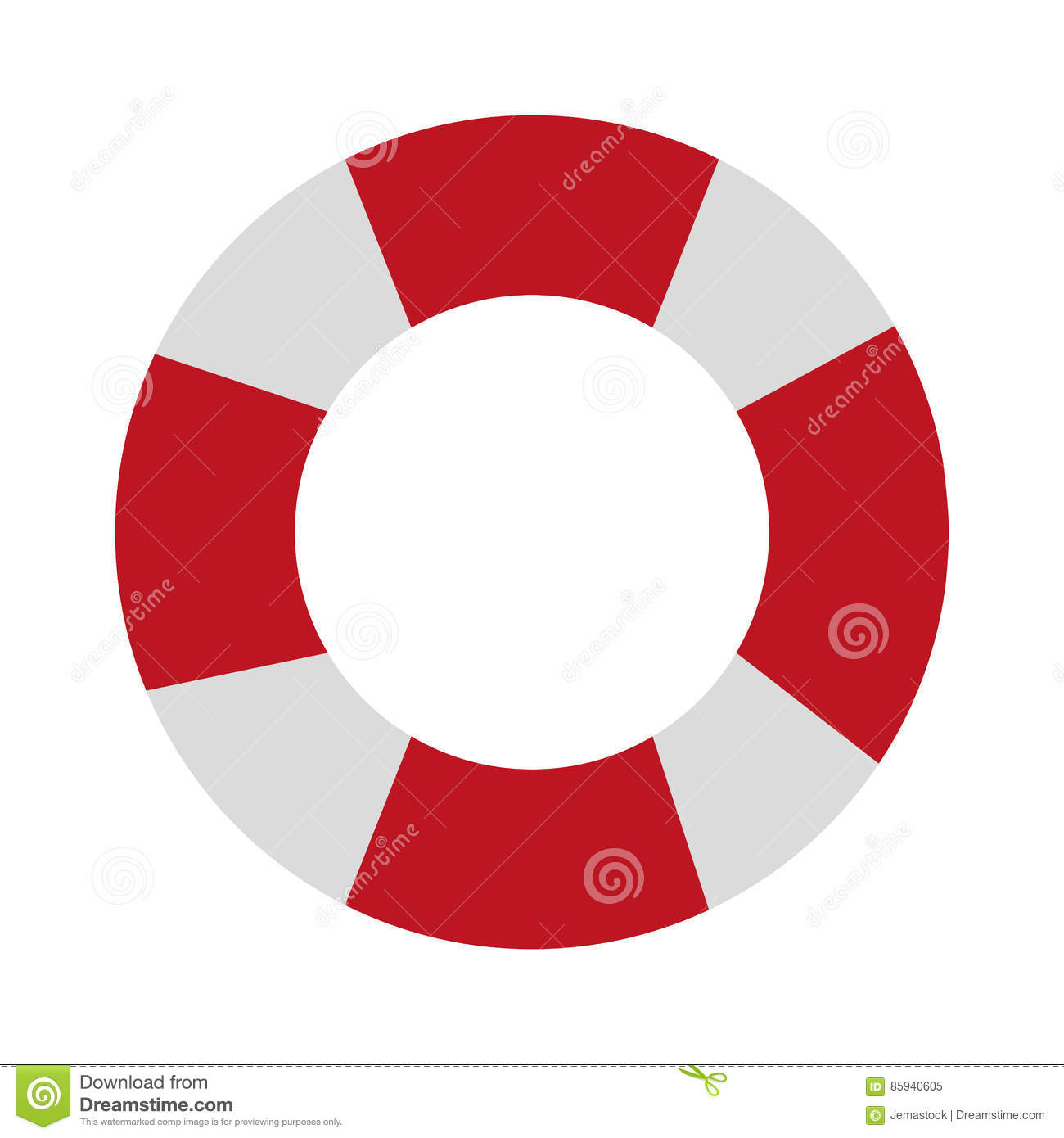 7423c052c721 Lifeguard float icon over white background. colorful design. vector  illustration. More similar stock illustrations