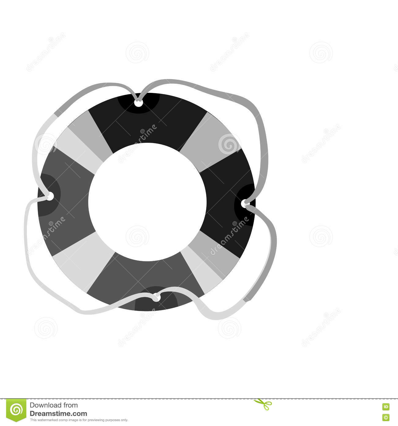 946969819acf Lifeguard float icon over white background. summer vacation design. vector  illustration. More similar stock illustrations