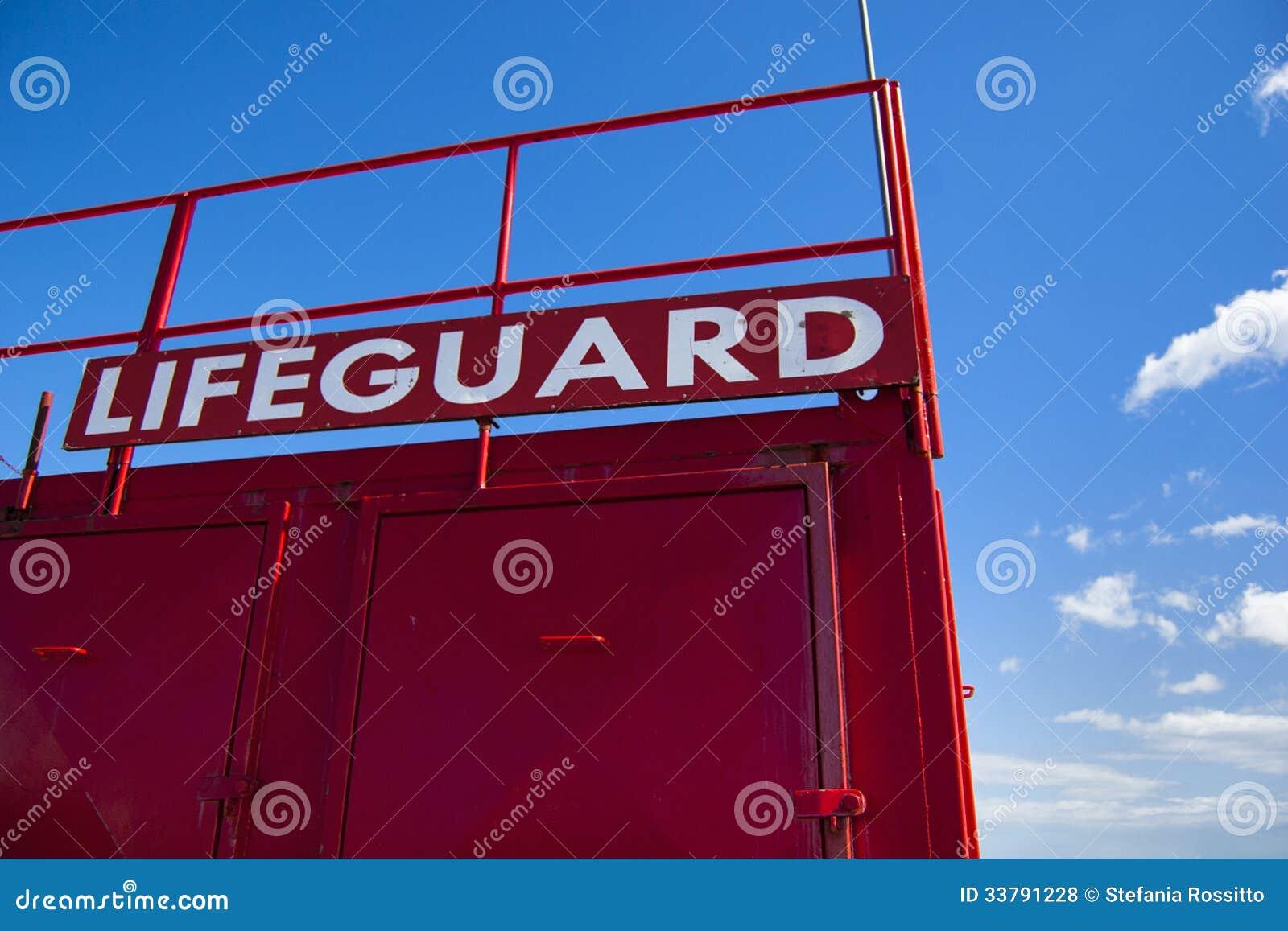 Lifeguard Tower Royalty Free Stock Photos Image 33791228