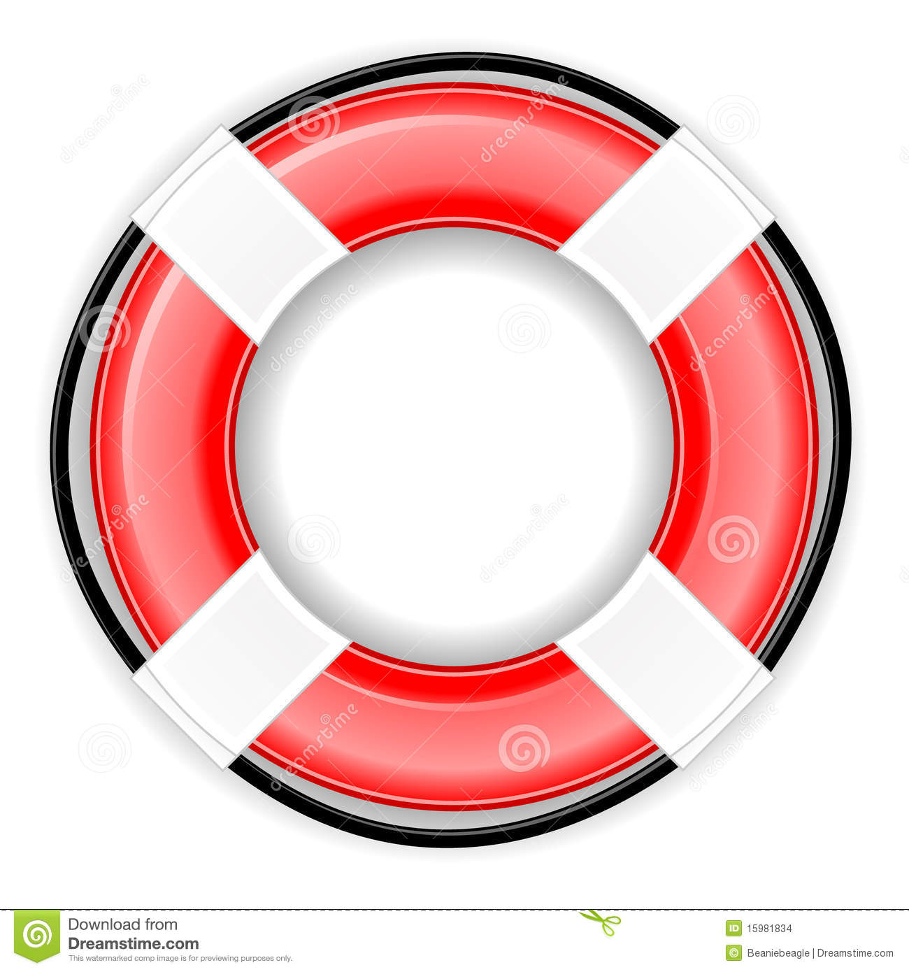 lifesaver icon eps stock vector image of graphic element