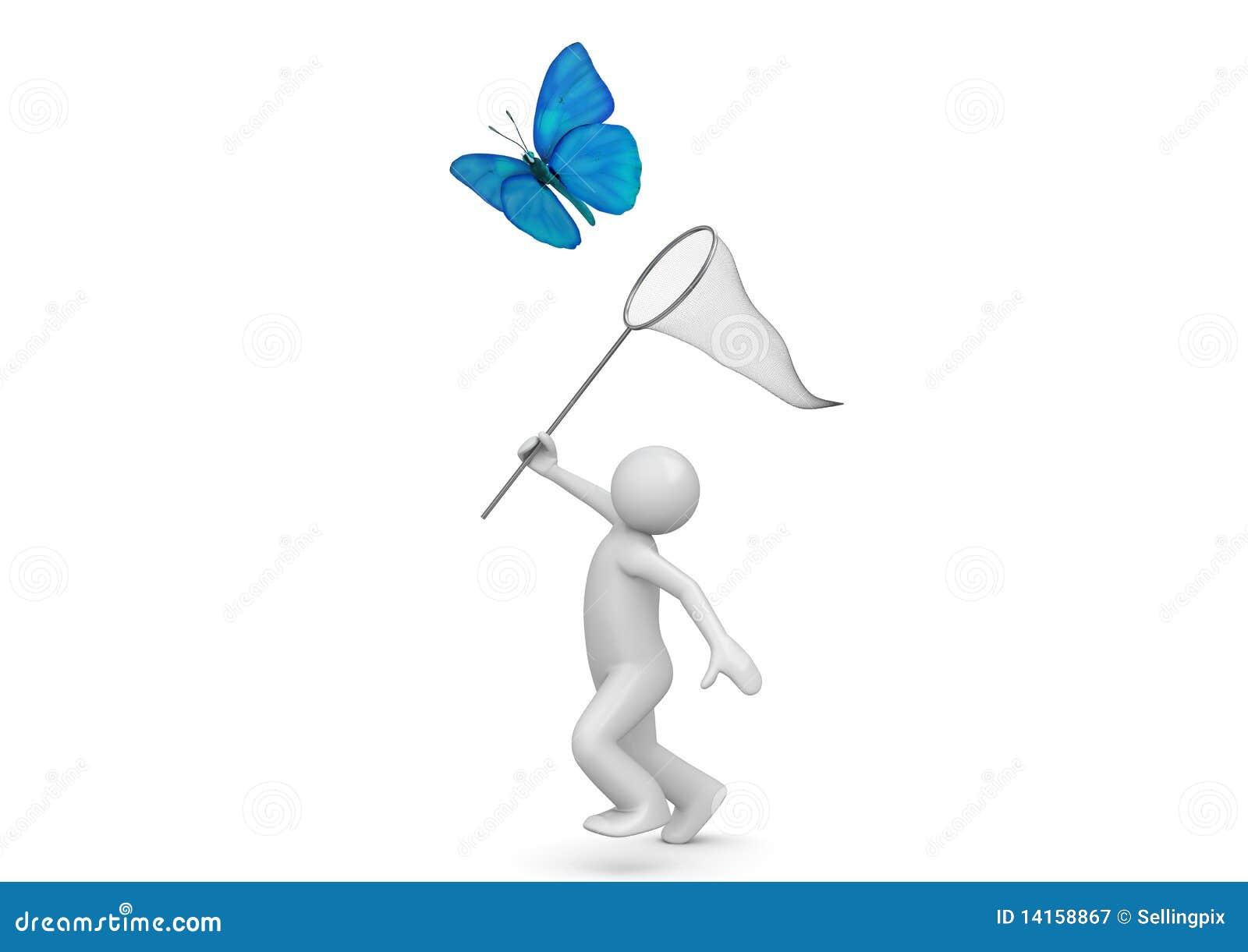 Butterfly Net Stock Illustrations – 660 Butterfly Net Stock ...
