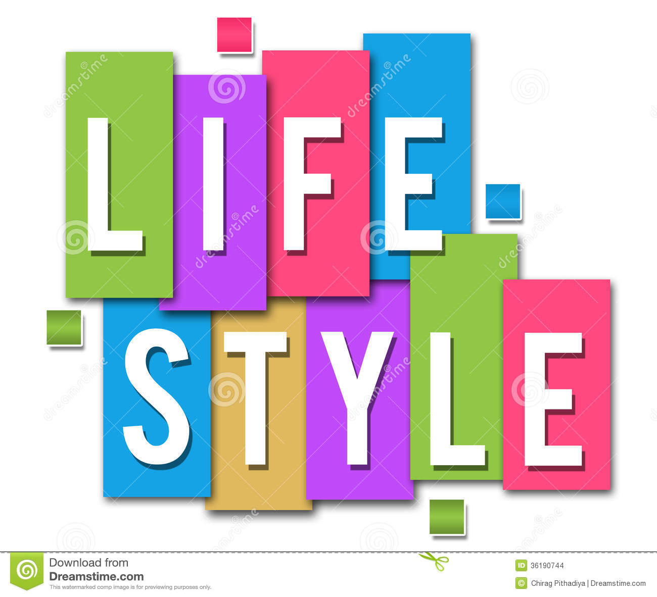 Lifestyle colourful stripes stock images image 36190744 for Lift style