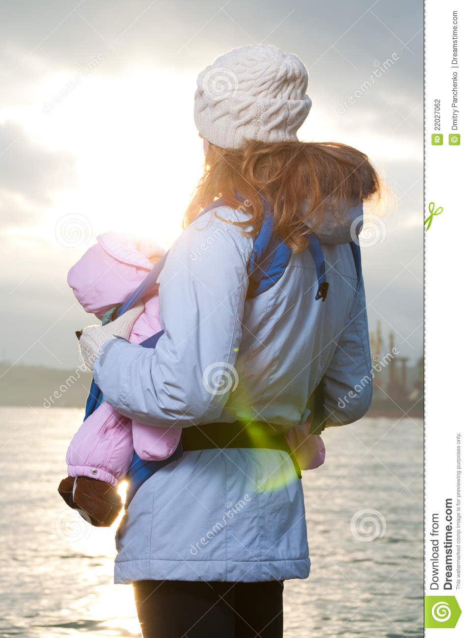 More similar stock images of lifestyle portrait of young mother