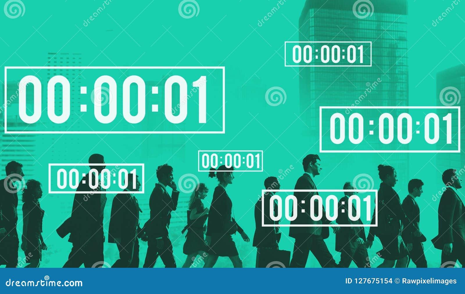 Lifetime Stopwatch Management Duration Countdown Concept