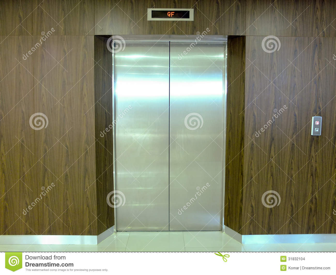 Lift Door Stock Photo Image Of Doors Entrance Building