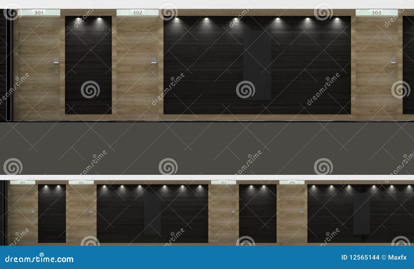 Liften in een gang stock illustratie afbeelding bestaande uit grafisch 12565144 - Een gang ...
