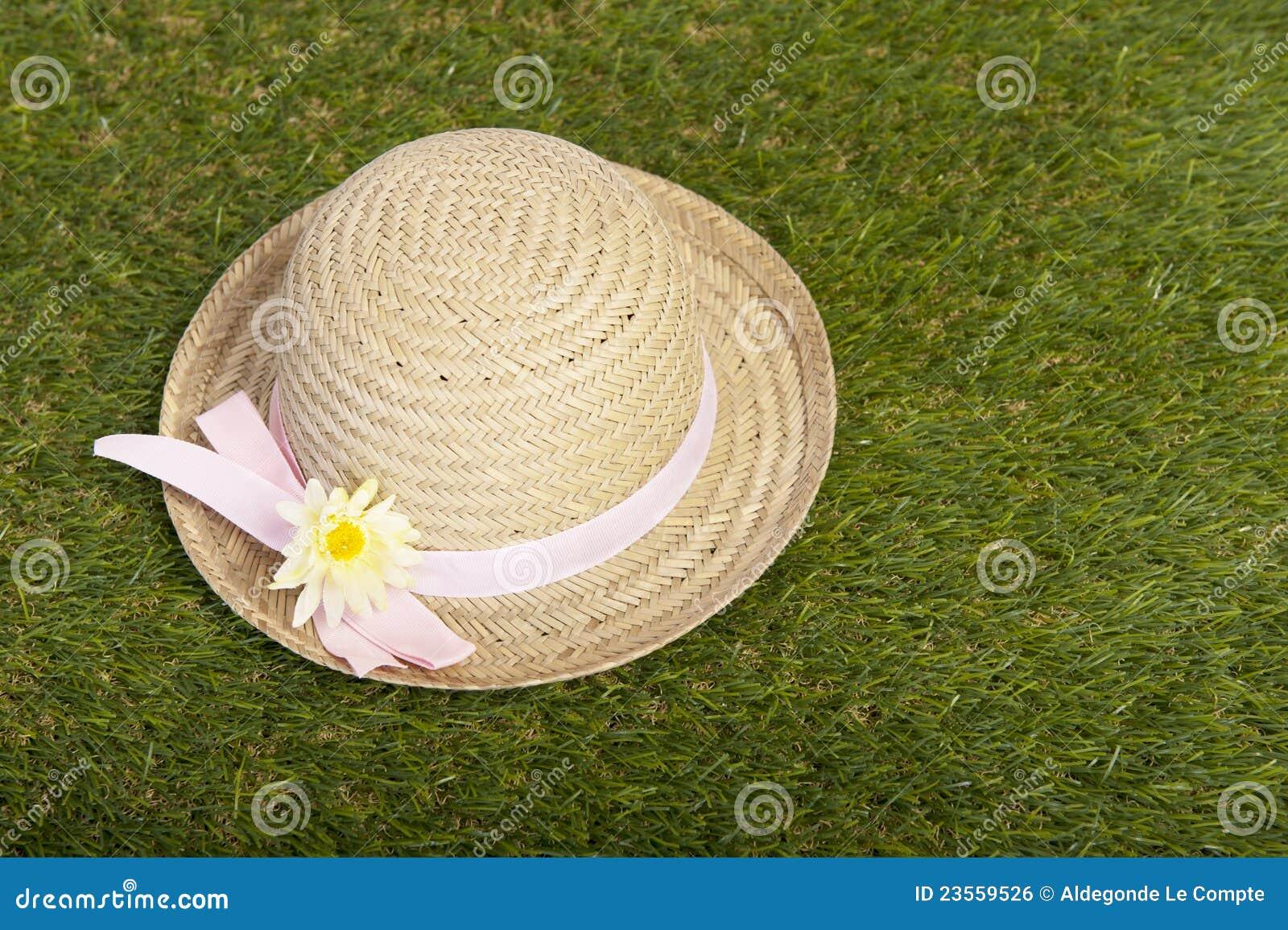 Liggande sommar för gräshatt