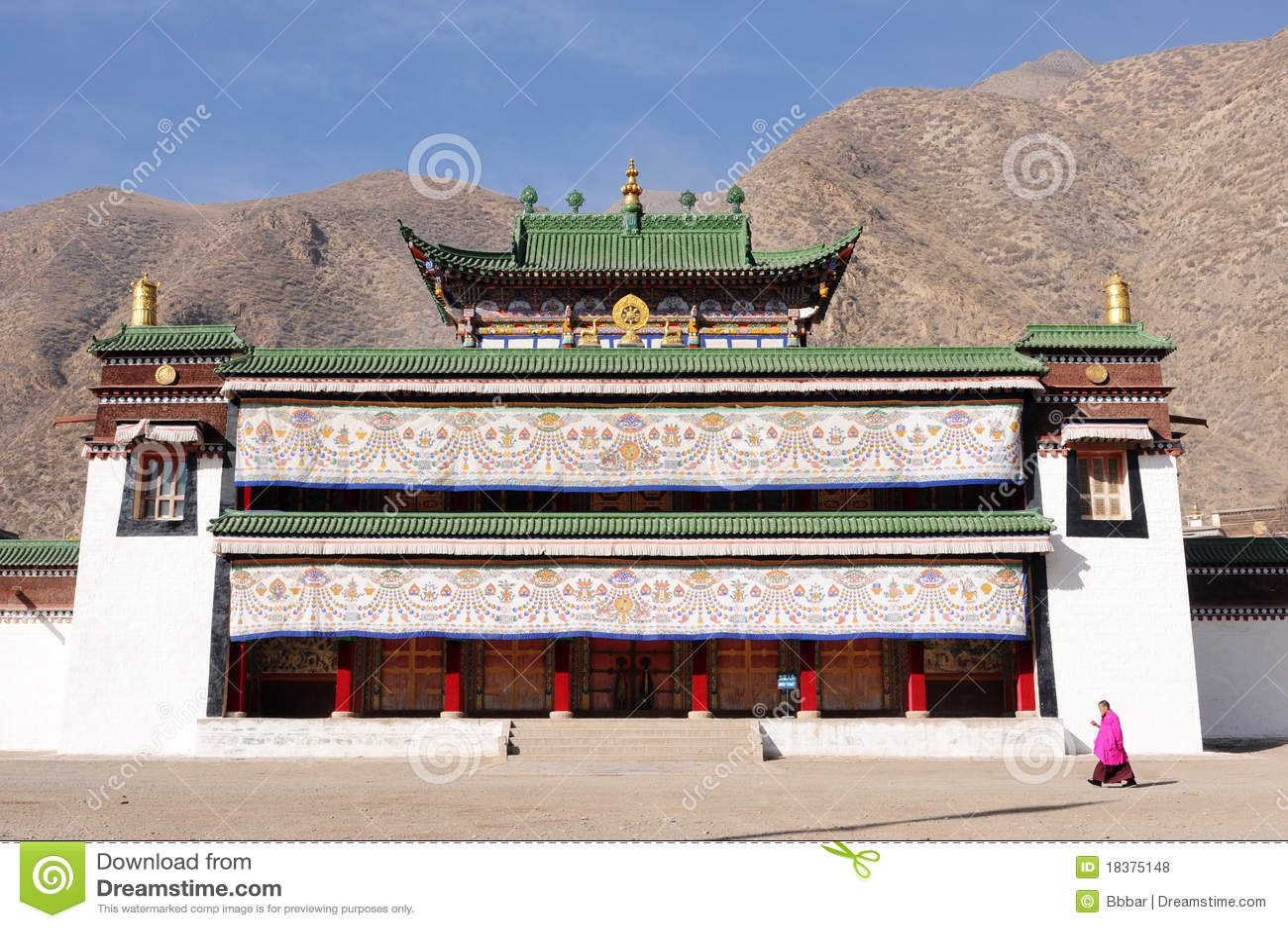 Liggande tibet