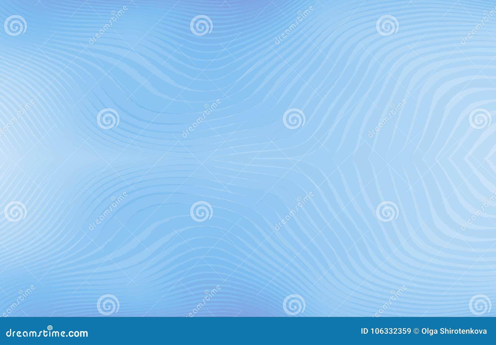 821057b9 Light blue background. Wavy pattern. Darkened bottom and top. Modern art.  Royalty-Free Illustration