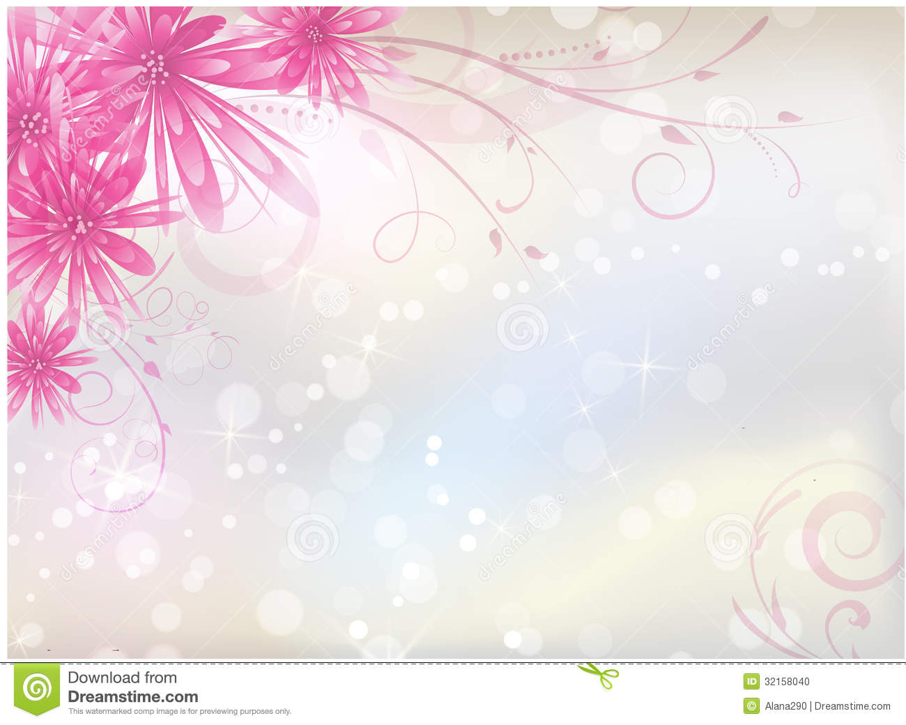 light pink floral background - photo #23