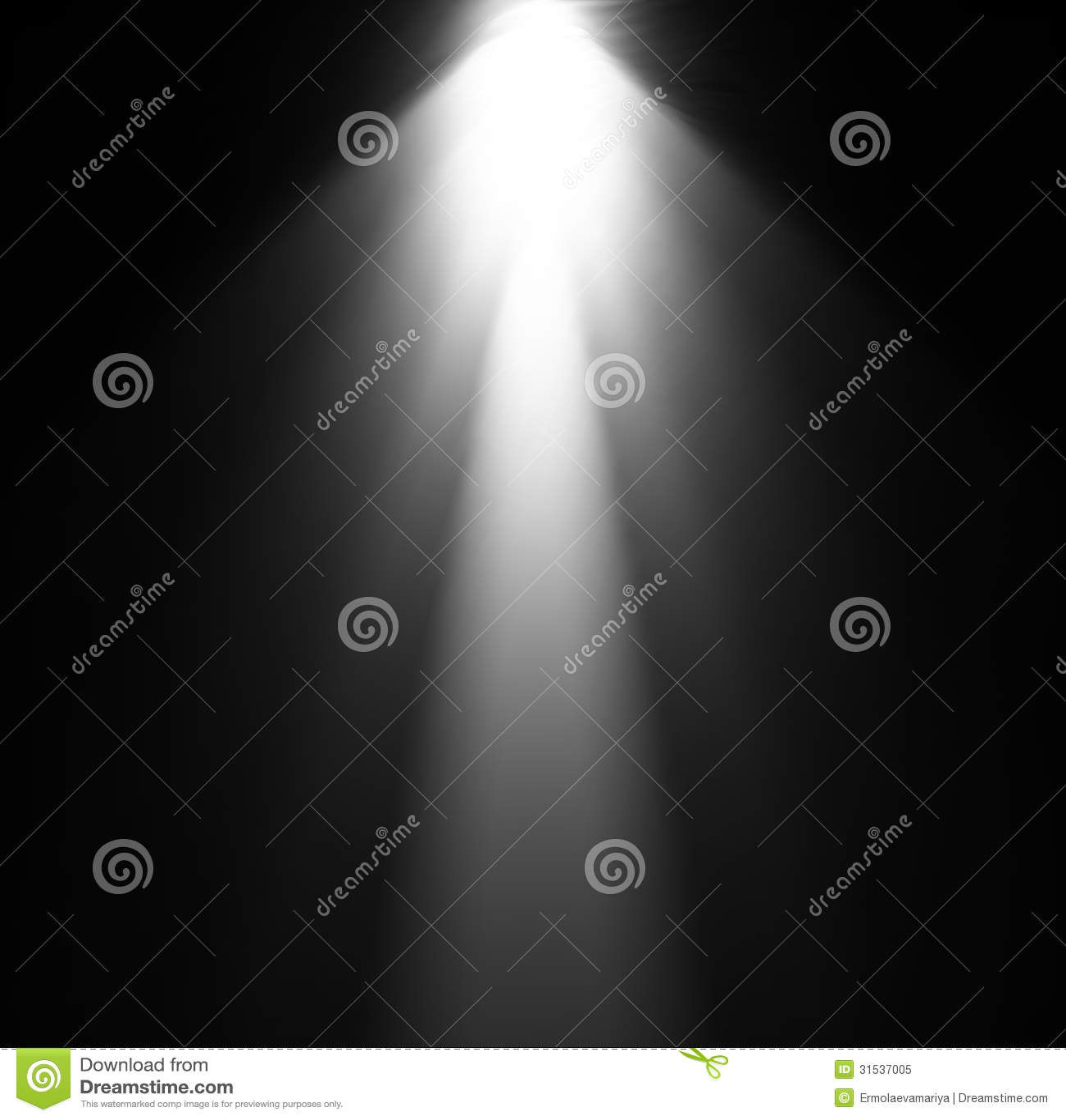 Light Beam From Projector. Vector Illustration Stock ...