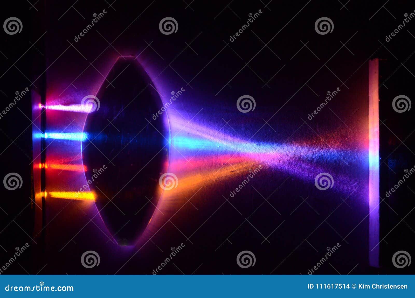 Convex lens demo