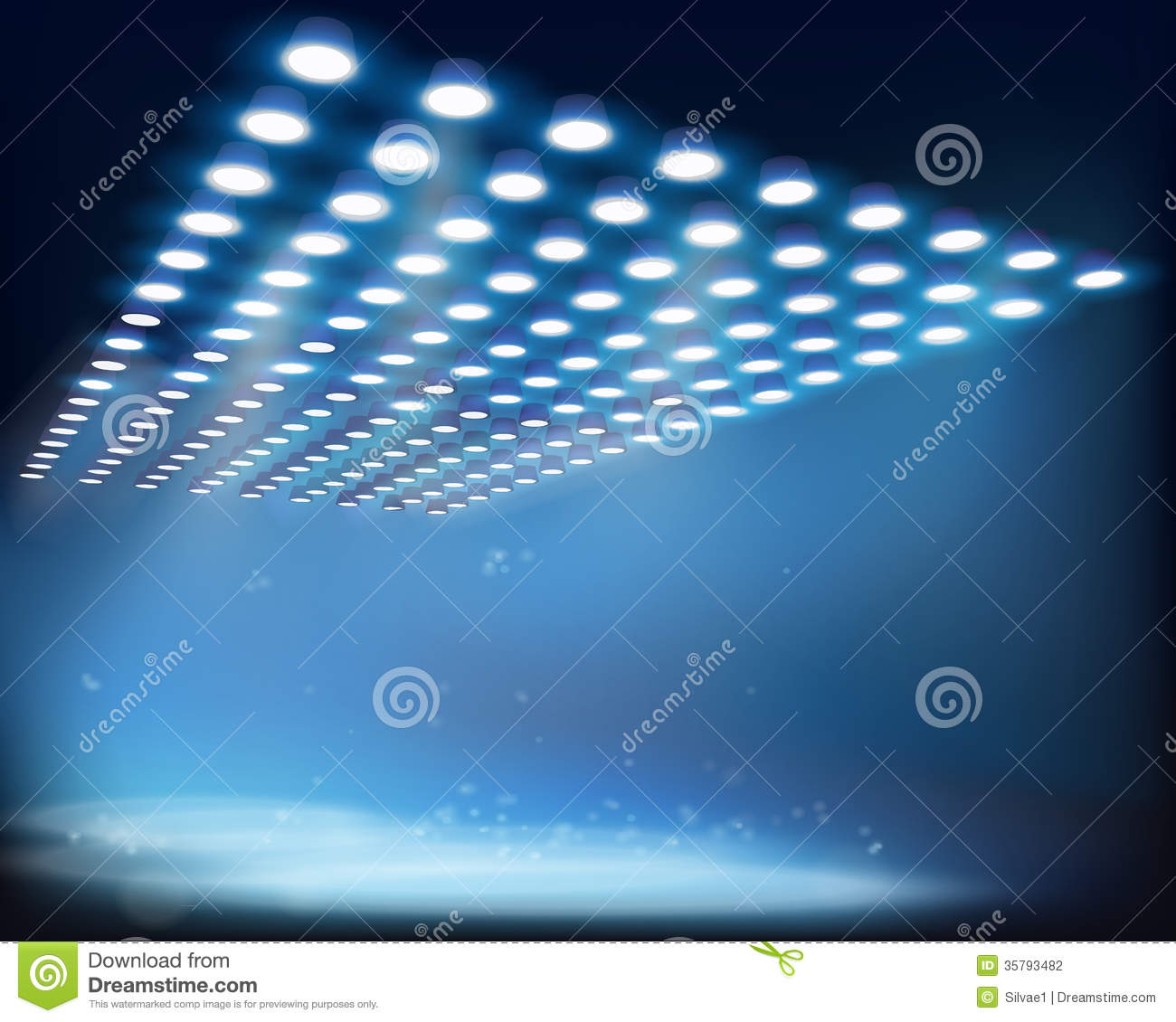 Light Beams. Vector Illustration. Stock Photography ...