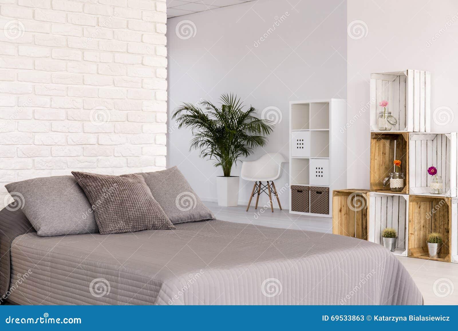 Light Bedroom In Scandinavian Style