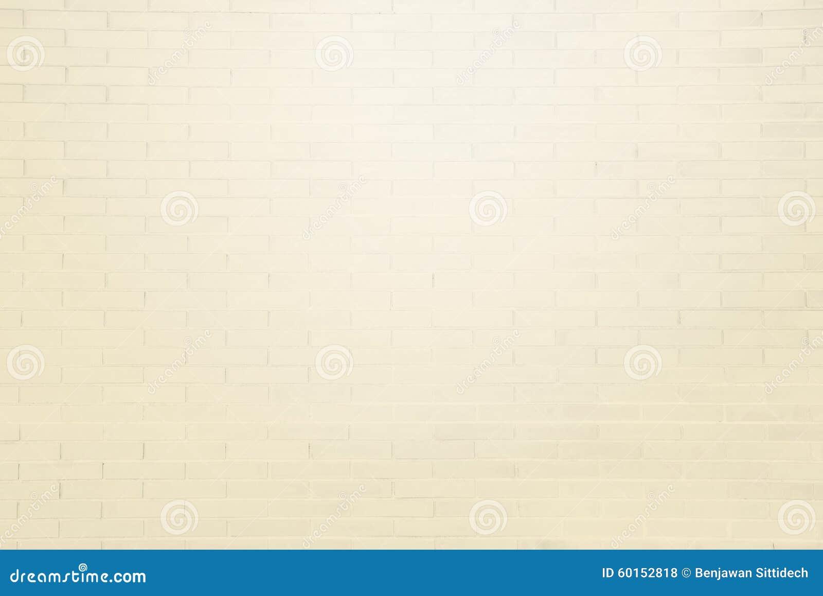 Light Beige Grunge Brick Wall Texture Background Stock