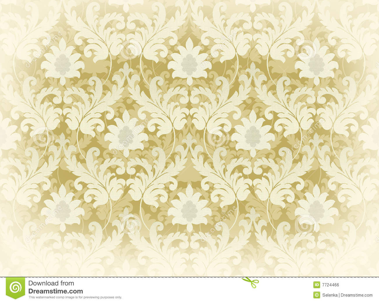light beige renaissance background stock illustration