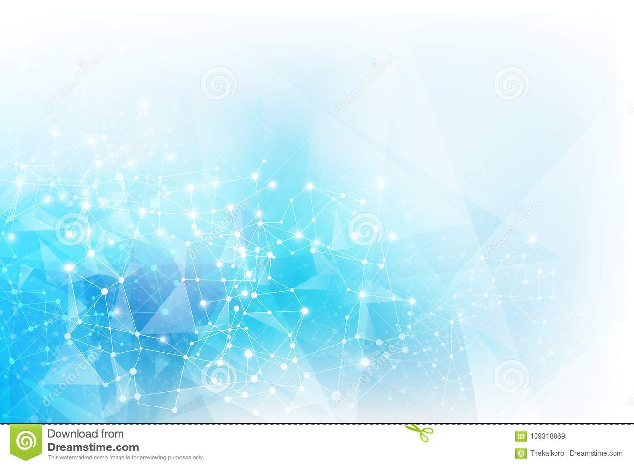 Light Blue Abstract Background 003 Stock Illustration