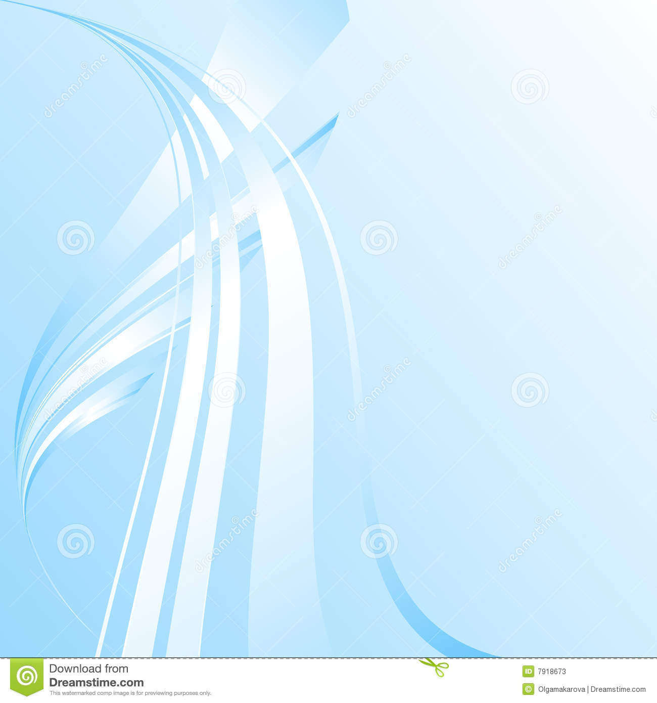 ... Blue Abstract Background With Waves Stock Photos - Image: 7918673