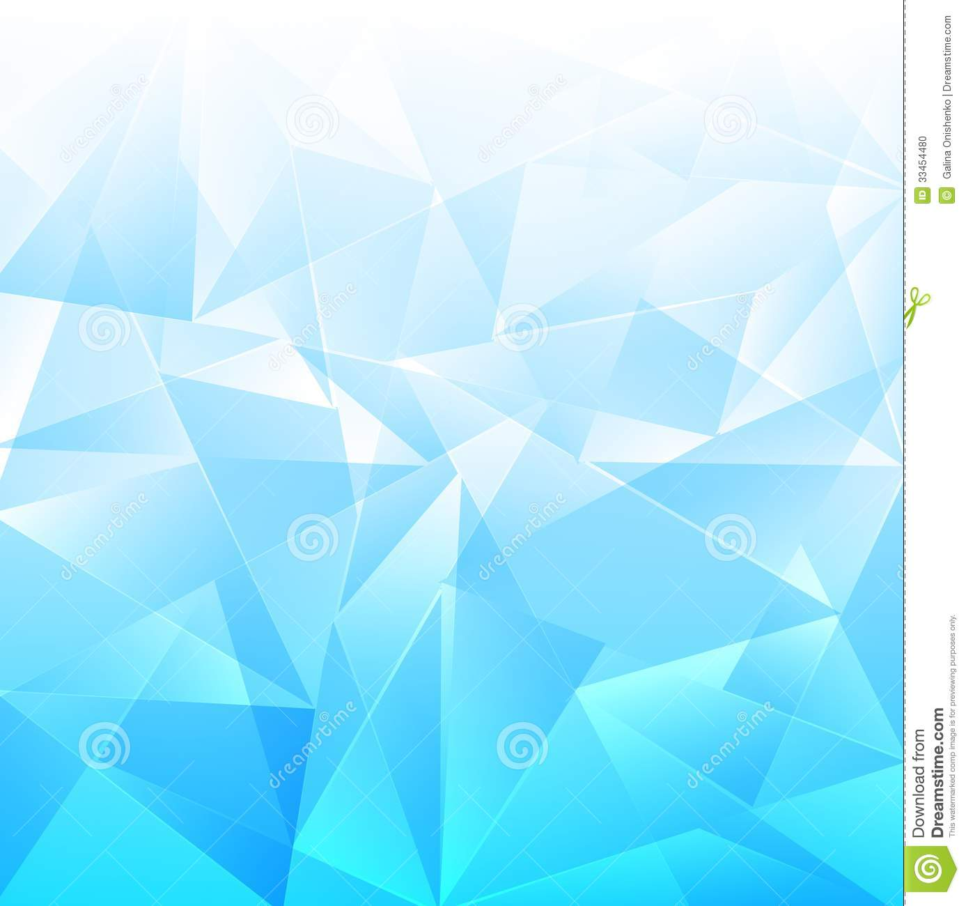 Light Blue Background Beautiful Mosaic