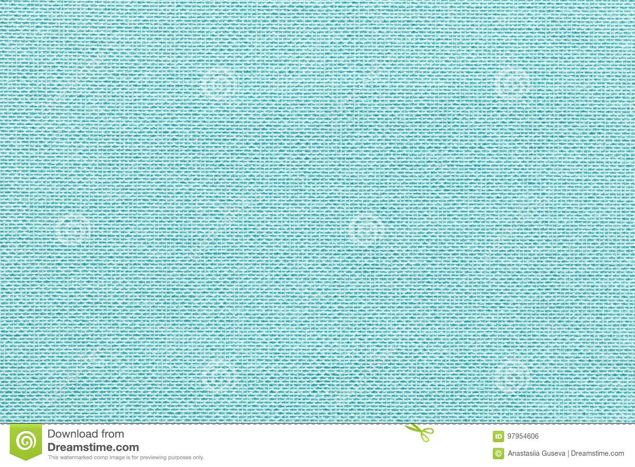 Light blue background from a textile material with wicker pattern, closeup.